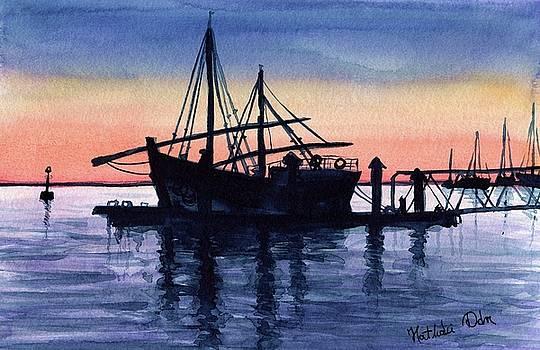 Portuguese Fishing Boat by Dora Hathazi Mendes
