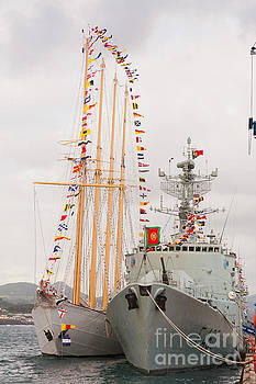 Gaspar Avila - Portuguese Navy ships