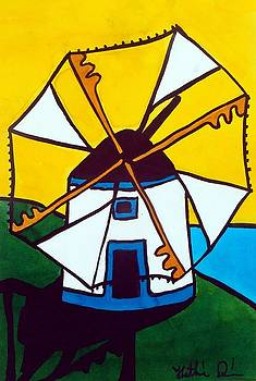Portuguese Singing Windmill by Dora Hathazi Mendes by Dora Hathazi Mendes