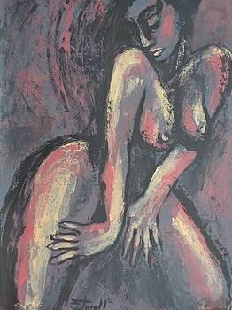 Posing - Female Nude by Carmen Tyrrell