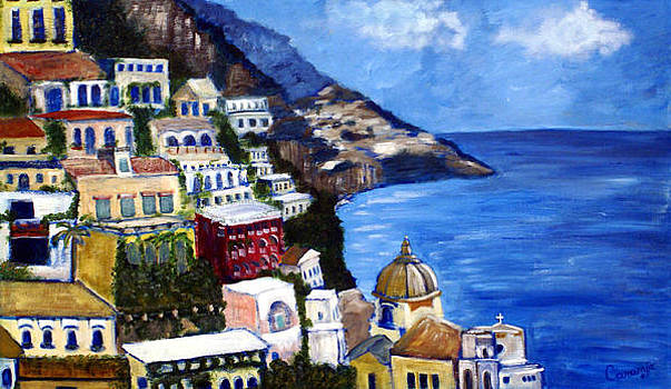 Positano by the Sea by Charlotte Smith