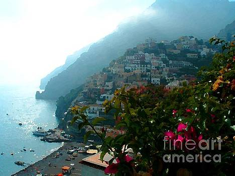 Amalfi Positano Coast by Josephine Benevento-Johnston