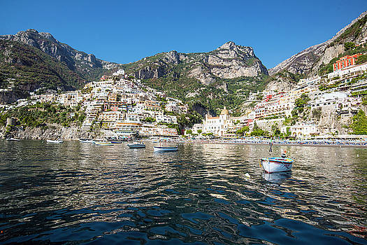 Matt Swinden - Positano from the Bay
