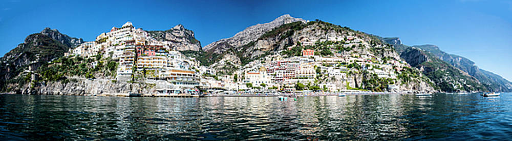 Matt Swinden - Positano from the Sea - Panorama I