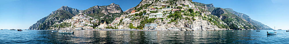 Matt Swinden - Positano from the Sea - Panorama II