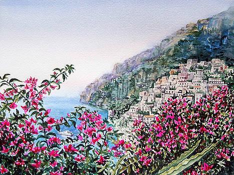 Positano Italy by Irina Sztukowski