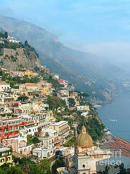 Positano Italy by Josephine Benevento-Johnston