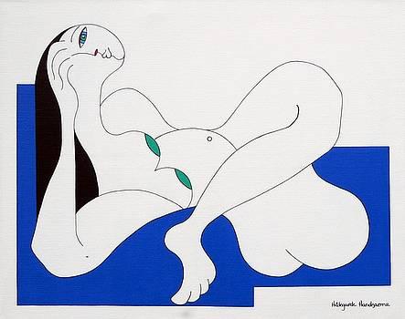Position Women  by Hildegarde Handsaeme