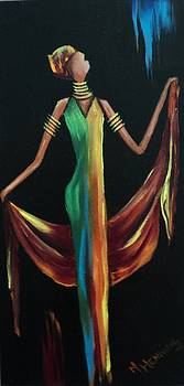 Positive woman1 by Marietjie Henning
