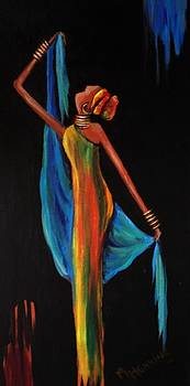 Positive woman2 by Marietjie Henning