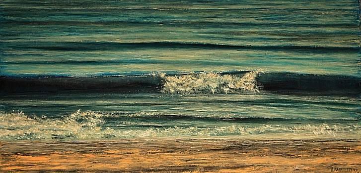 Possidi Beach Wave 1 by Dimitra Papageorgiou