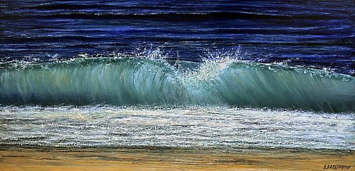 Possidi Beach Wave 2 by Dimitra Papageorgiou
