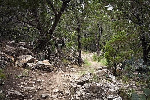 Possum Kingdom Rocky Trail by Jennifer Zandstra