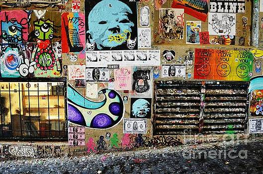 Post Alley Gum Wall by Kiana Carr