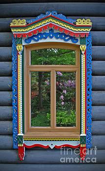 Jost Houk - Post Dacha Window