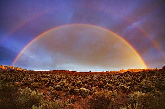 Post Tstorm Rainbow by SB Sullivan