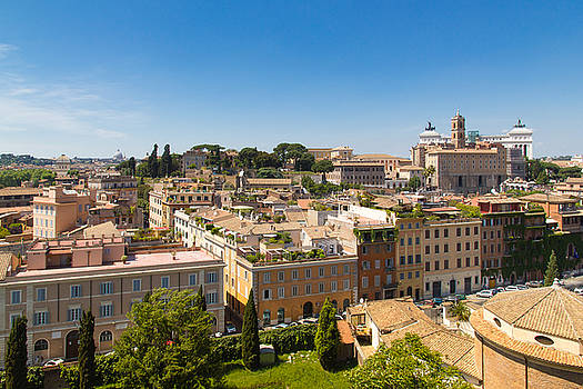 Postcard View of Rome by Yana Reint