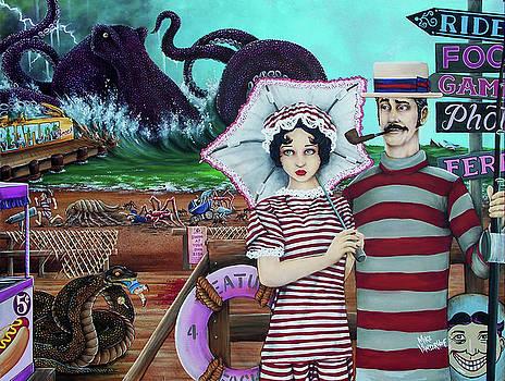 Postcards from Creature Beach by Michael Vanderhoof