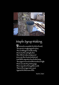 Poster Poem - Maple Syrup Making by Poetic Expressions