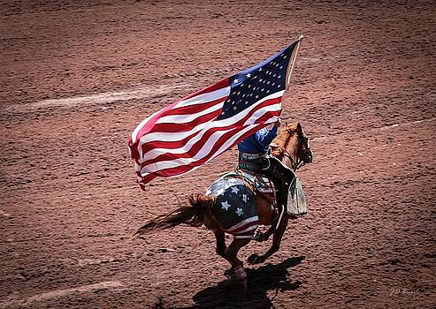 Posting the Colors - the Cowboy Way by Julie Basile