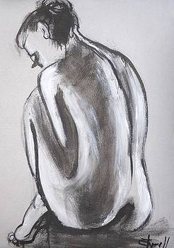 Posture 3 - Female Nude by Carmen Tyrrell