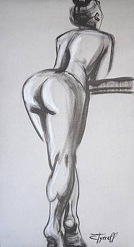 Posture 5 - Female Nude by Carmen Tyrrell