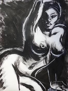Posture 6 - Female Nude by Carmen Tyrrell
