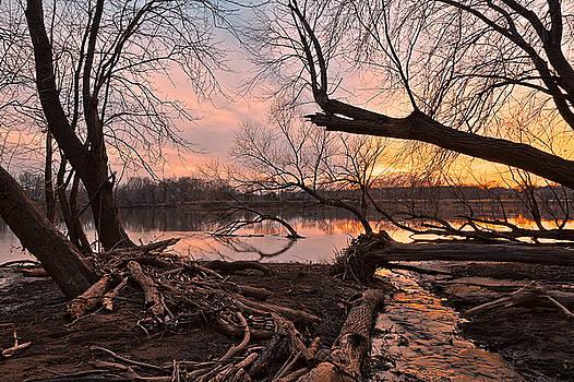 Potomac Sunset 4 by Nicolas Raymond