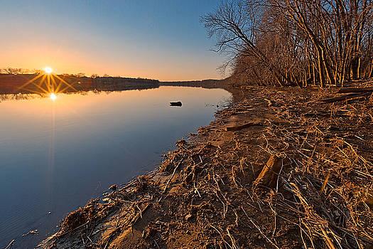 Potomac Sunset by Nicolas Raymond