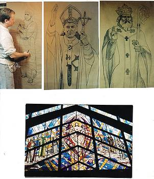 Potraits for Stained Glass by Patrick RANKIN