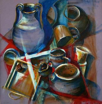 Pots by Diane Agius