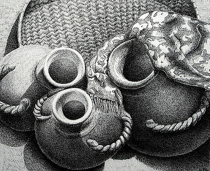 Pots by Suzahn King