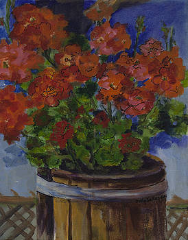 Potted Beauties by Dolly Sellars