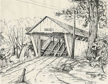 Potter's Covered Bridge by Michael Scherer