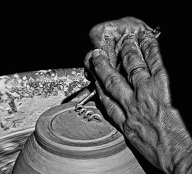 Potters Hands by Stuart Harrison