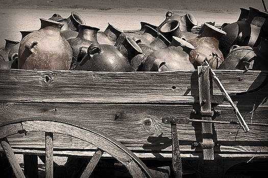 Pottery Wagon by Tim Hightower
