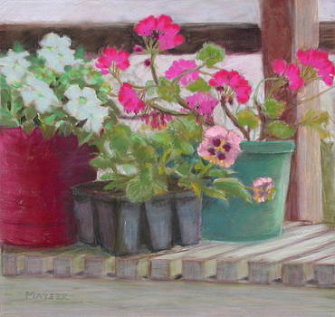Potting Bench by Julie Mayser