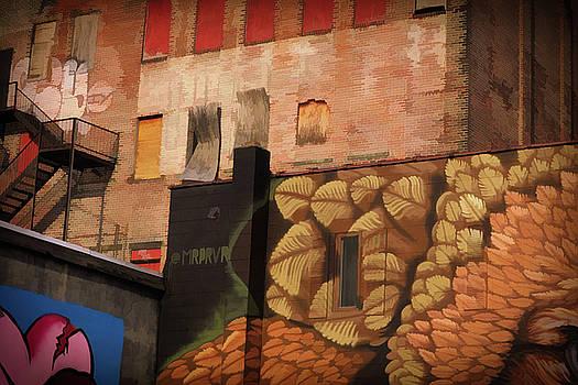 Poughkeepsie Street Art by Nancy De Flon