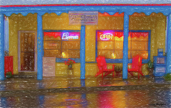 Poulsbohemian - Wet Night by Wally Hampton