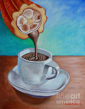 Pour Me A Cup Of Chocolate Please. by Laura Forde