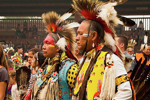 Pow Wow Celebration No 13 by David Smith