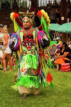 Pow Wow Celebration No 16 by David Smith