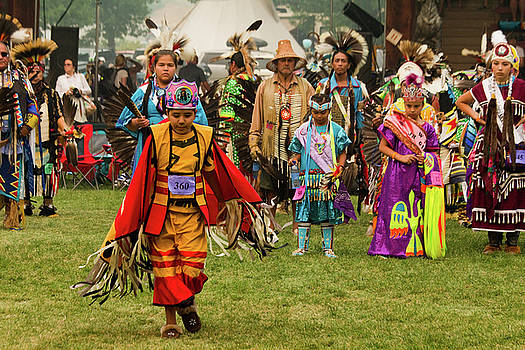 Pow Wow Celebration No 4 by David Smith
