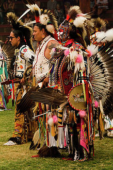 Pow Wow Celebration No 5 by David Smith