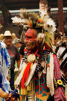 Pow Wow Celebration No 7 by David Smith