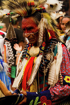 Pow Wow Celebration No 8 by David Smith