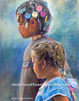 Pow Wow Friendship by Deb Hoeffner
