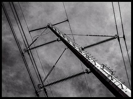 Power Line Sky by Frank Winters