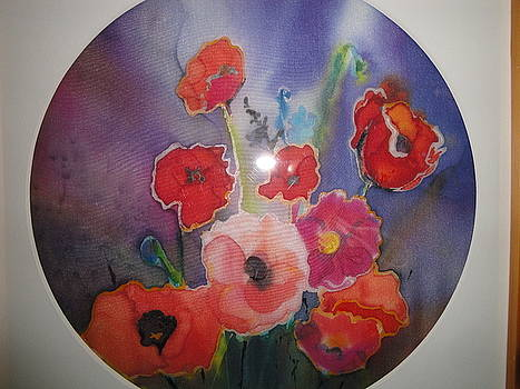 Power of Poppies by Evelyn Cassaday