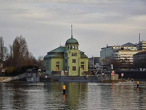 Powermill. By the Vltava. Prague spring 2017 by Jouko Lehto